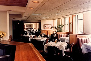 interior view of Rainwaters Restaurant