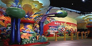 Yellow Submarine attraction at SONY Centre