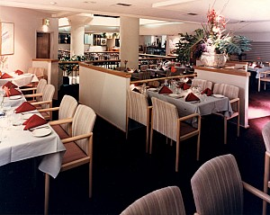 interior view of Pacifica Grille Restaurant