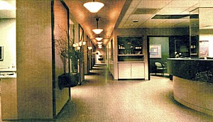 Barnes Hospital Outpatient Oral Surgery Suites hallway
