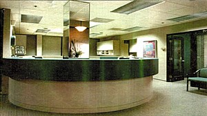 Barnes Hospital Outpatient Oral Surgery Suites lobby